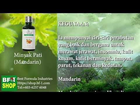 Pati Minyak Wangi Aromatik - Mandarin (Mandarin)