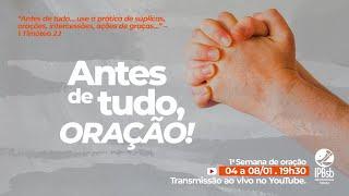 2021-01-06 - 1a Semana de Oração - 3o dia - Presbítero  Tony