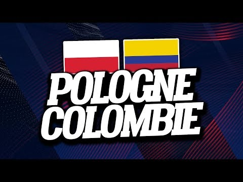 🔴 DIRECT / LIVE : POLOGNE - COLOMBIE // Club House