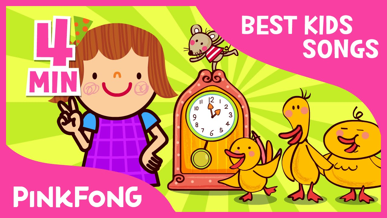 songs children pinkfong 123 counting compilation