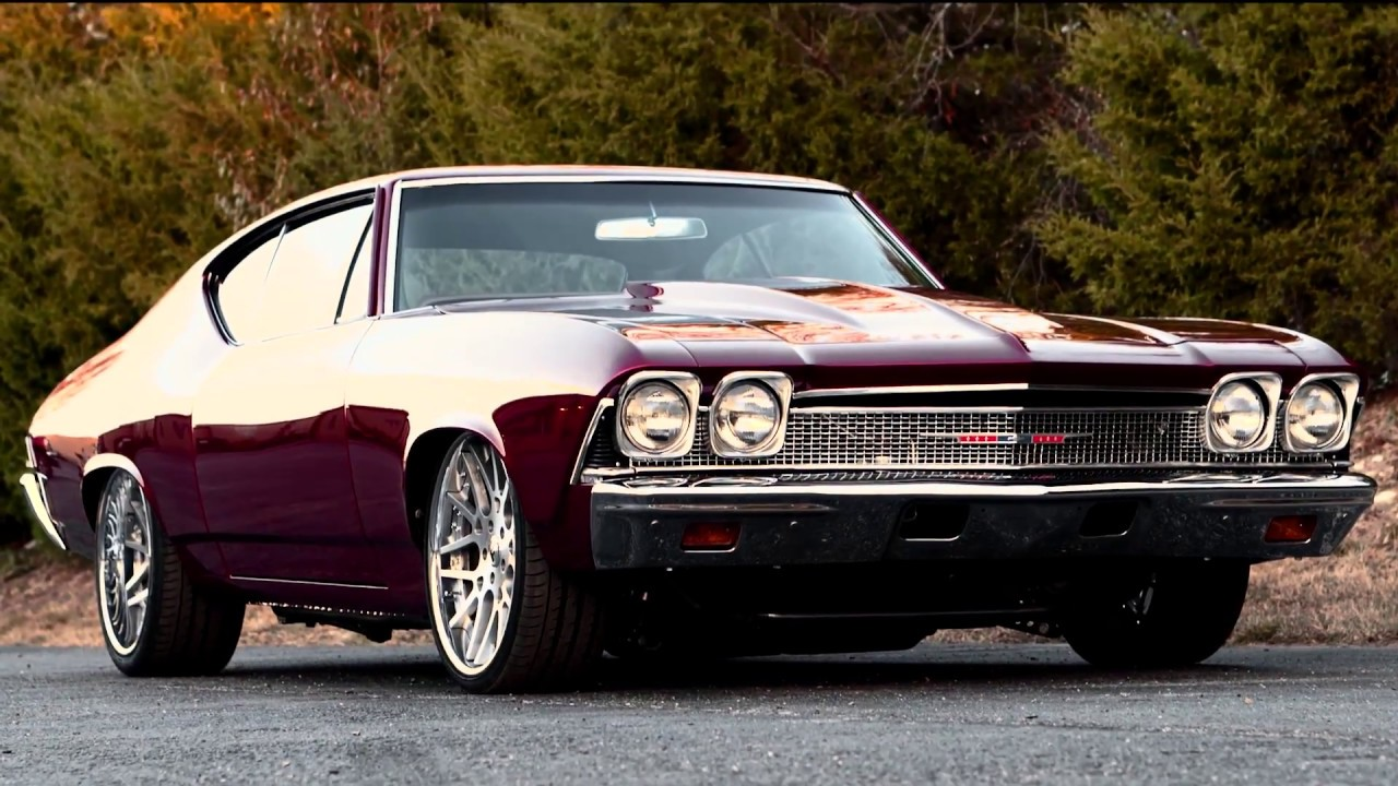 1968 Chevelle ProTouring LS - YouTube