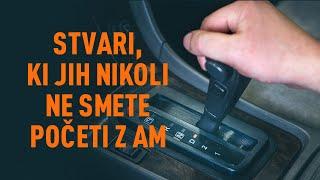 Zamenjavo Amortizer zadnjih vrat Volvo v50 mw 2.0 D - nasveti za menjavo