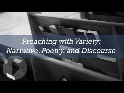Preaching with Variety: Narrative, Poetry, and Discourse - Peter Mead