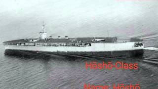 All Japanese carriers in WW2 (IJN)