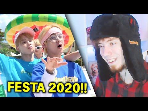 2020 FESTA НАЧАЛАСЬ! (BTS (방탄소년단) 'Airplane pt.2' (Summer ver.))   РЕАКЦИЯ
