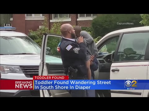 Chris Michaels - Toddler Found Wandering Alone In South Shore, Wearing Only A Diaper
