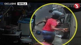 Sapul sa CCTV | Lalaki, binugbog, pinagsasaksak ng mga kalaro …