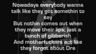Dr.Dre Ft. Eminm-Forgot About Dre