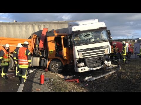 Lkw Unfall Bad Hersfeld