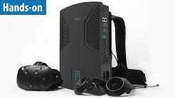 VR-Rucksack-PC - Zotac VR GO im Hands-on   deutsch / german