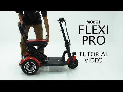 MOBOT FLEXI PRO Mobility Scooter | Tutorial
