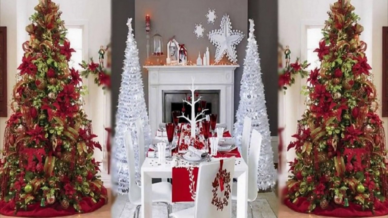 Elegant christmas tree decorating ideas abraham l smith for Classy xmas decorations