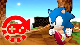 360° Video - Run With Sonic, Green Hill Zone thumbnail