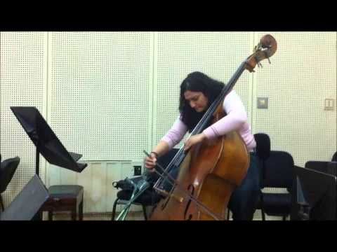 Bottesini Melodie For Double Bass And Piano By Samar Talaat