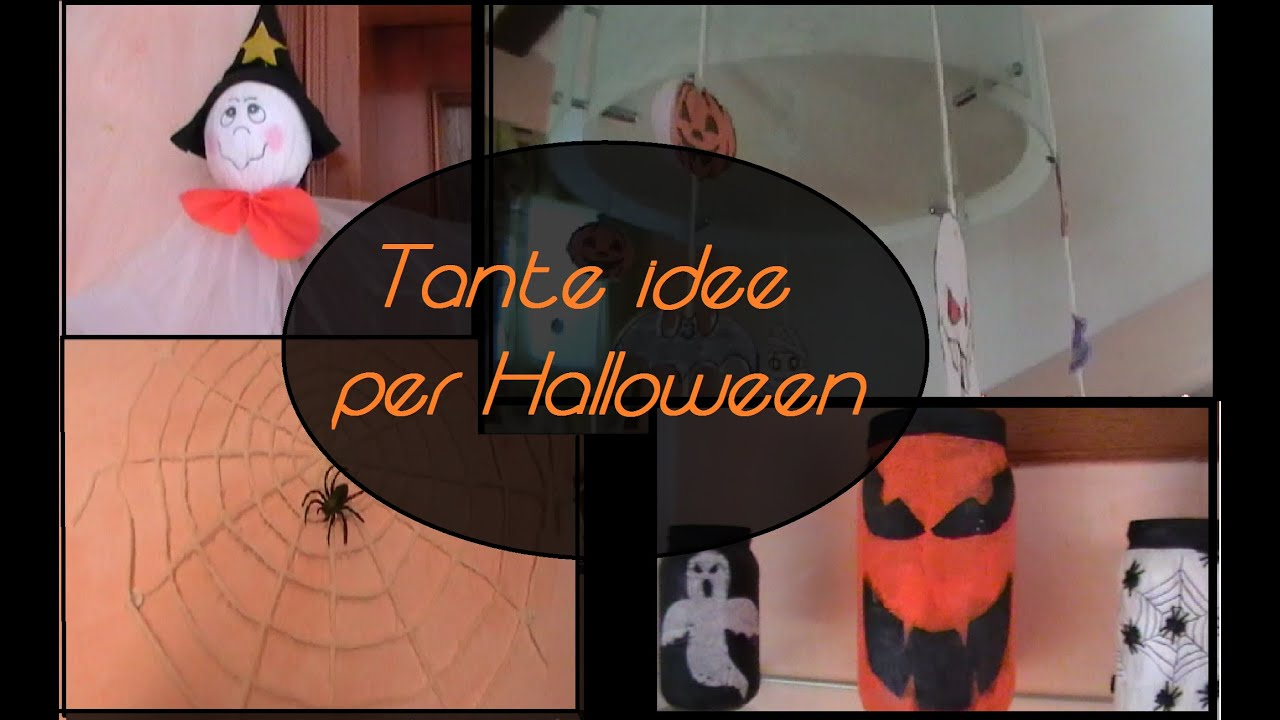 Addobbi Tavola Per Halloween come decorare casa x halloween - tante idee facili e veloci! / halloween  home decoration