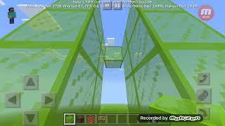How to make a glass house w/elevator,no redstone