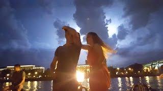 Небо в молниях. Аня Нечаева и Смазнов Олег. Танцули