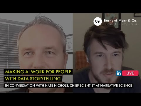 Making AI Work For People With Data Storytelling