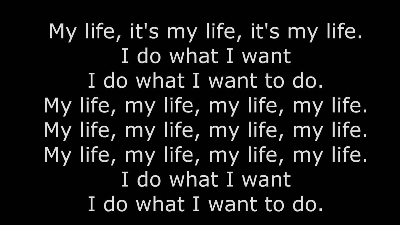 Bliss n Eso - My life (Lyrics) - YouTube