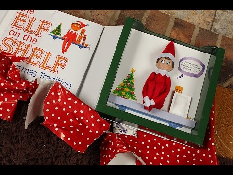 The Elf On The Shelf Arrived Unboxing Youtube