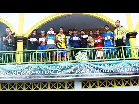 Lari maraton Antar Pepadu Se-pulau Lombok