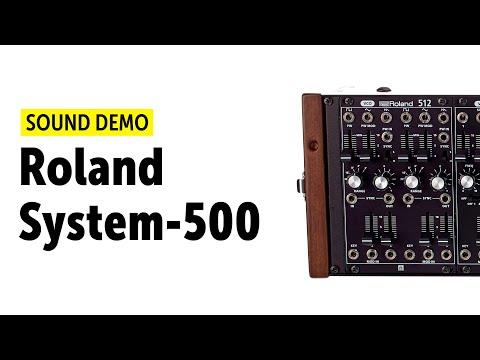 Roland System-500 Complete Set Sound Demo (no talking)