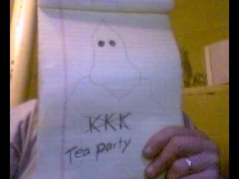 REPUBLICANS TEA PARTIES  NEW SIGN.wmv