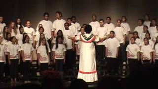 "Kahuku High School Choir ""Winterlight"""
