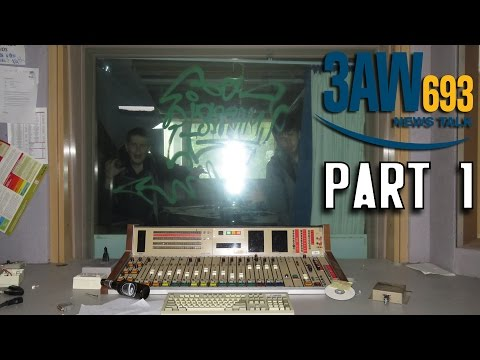 Abandoned: 3AW Radio Station | Part 1 | HOMELESS ENCOUNTER!