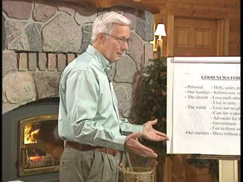 On Earth as it is in Heaven Study Preview:  Bob Moffitt