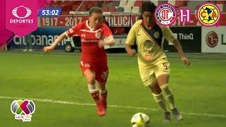 Resumen | Toluca 1-1 América | Femenil J11 | Televisa Deportes