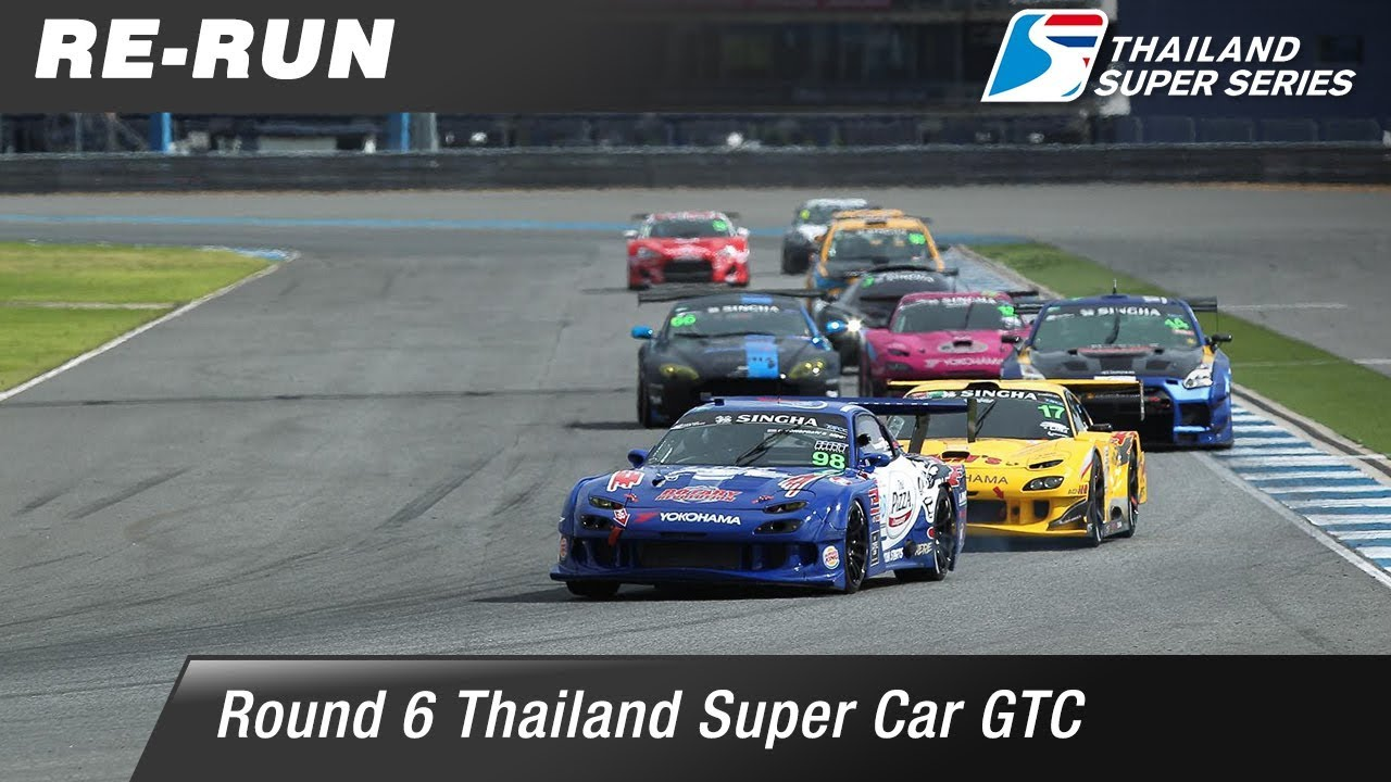 Thailand Super Car GTC : Round 6 @Chang International Circuit