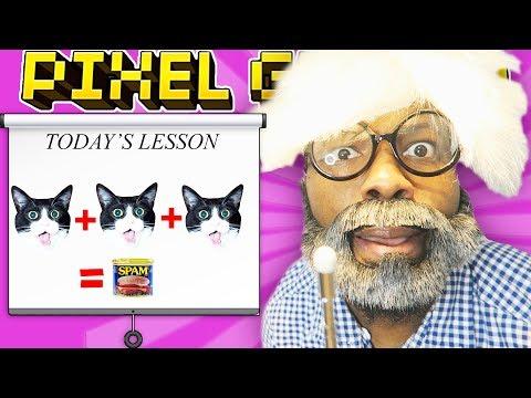LEARNING 3 CAT SPAM! L Pixel Gun 3D - Episode 1