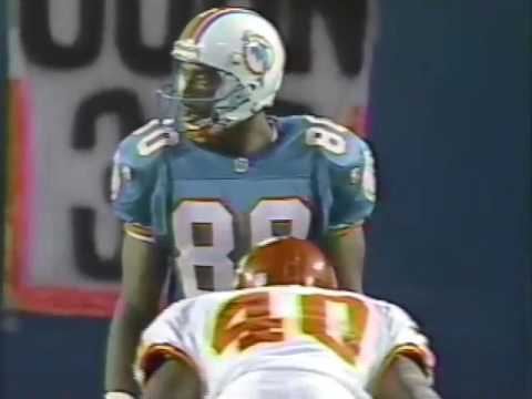 1995 Wk 15 Miami Defeats Kansas City 13-6; Highlights With Radio Call