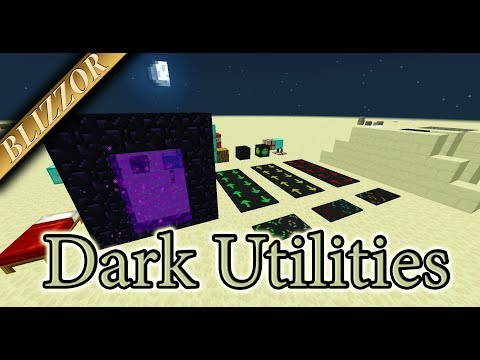 Dark Utilities - Mod Spotlight [Tutorial] [Deutsch] [GER]