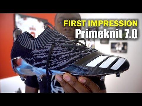 ADIDAS Primeknit 7.0 Football Cleats: 1st Impression