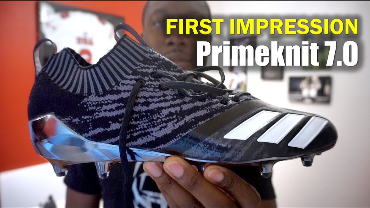 17764920c98 ADIDAS Primeknit 7.0 Football Cleats  1st Impression - YouTube