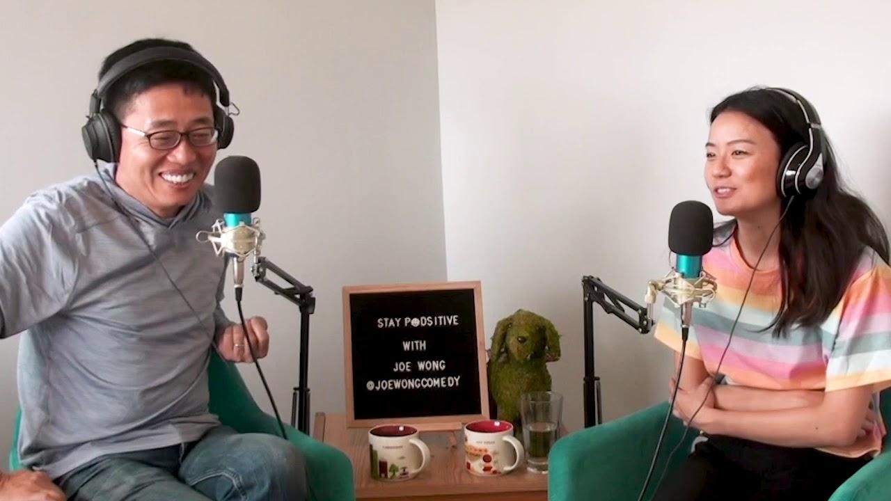 Joe Wong talks TikTok + the start of COVID in the US   STAY PODSITIVE CLIPS