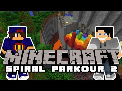 Minecraft Parkour: Spiral Parkour 2 [3/3] w/ Undecided