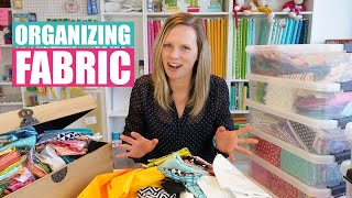 5 reasons why you should organize your quilt fabric