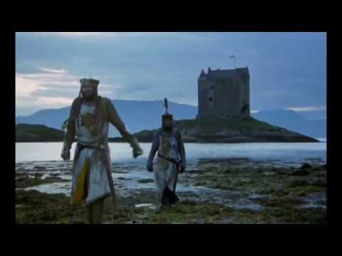 Monty Python In Castle Stalker (Scotland)