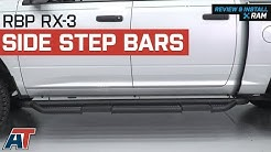 2009-2018 Ram RBP RX-3 Side Step Bars - Black Quad Cab & Crew Cab Review & Install
