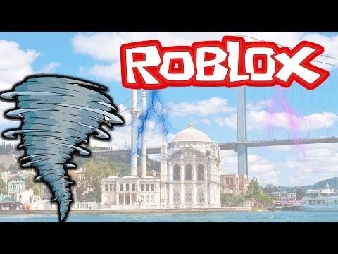 İstanbul'da Doğal Afet Oynadım - Roblox