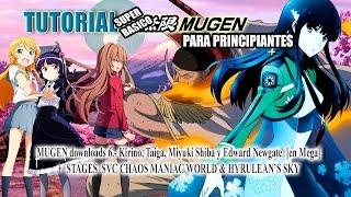 MUGEN downloads 6.- Kirino, Taiga, Miyuki Shiba y Edward Newgate  [en Mega]