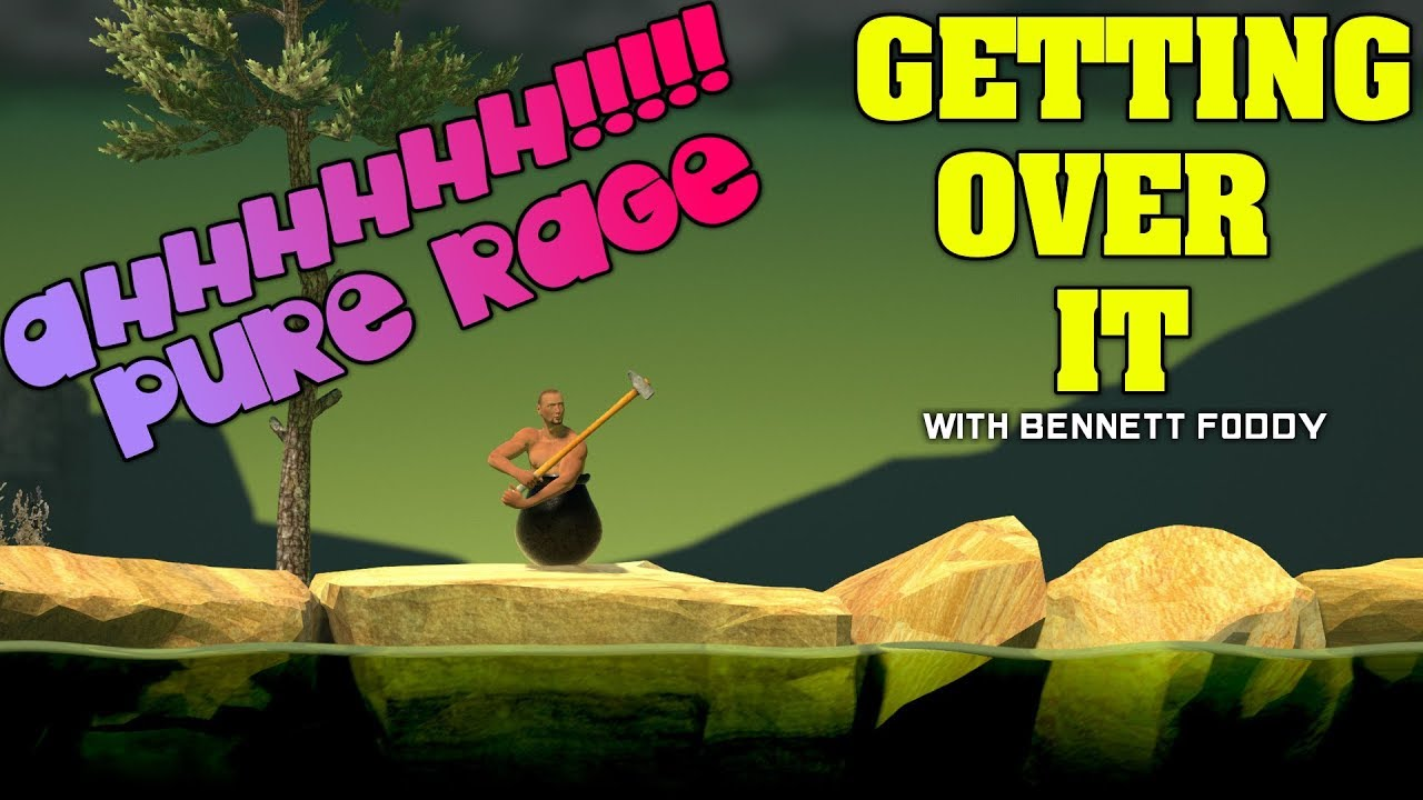 Getting Over It With Bennett Foddy Ep 1 Pure Rage And Yelling