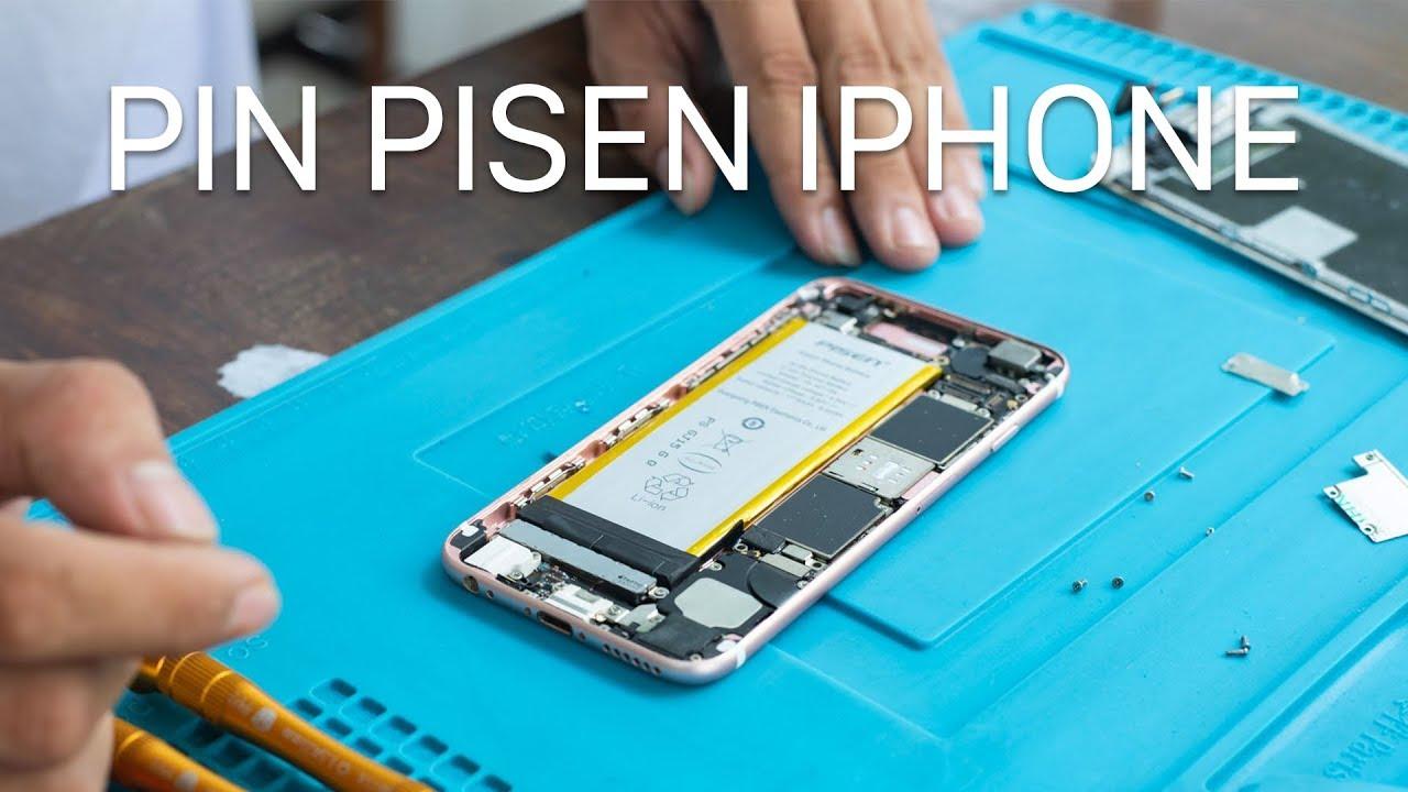 Pin thay thế cho iPhone 6S của Pisen, iOS 11.3 nhận đầy đủ, có bảo hiểm cháy nổ, giá 500 ngàn
