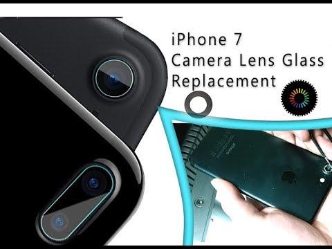 huge discount 9748f 4fb18 iPhone 7 Camera Lens Glass Replacement Tutorial / Scambio di una  diapositiva della telecamera rotta