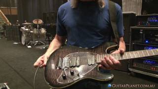Steve Morse Shows Us His Chambered Y2D Prototype