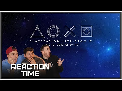 PlayStation E3 2017 Conference - Reaction Time!