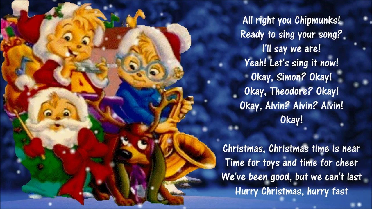 Christmas Don\'t Be Late *🎄* Alvin And The Chipmunks - YouTube